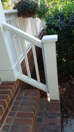 Build One Hand Railing For 2 Steps On A Porch Cover Photo