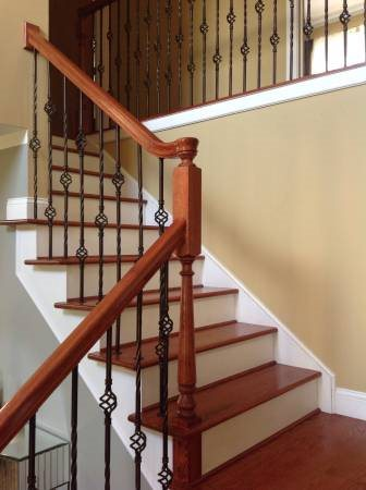 Carpenter For Stairs With Trim Installation Cover Photo