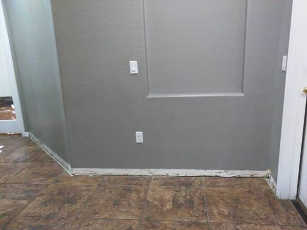 Needed Baseboards For Two Walls And Possibly A Little Drywall  Cover Photo