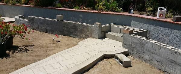 Building With Concrete Blocks