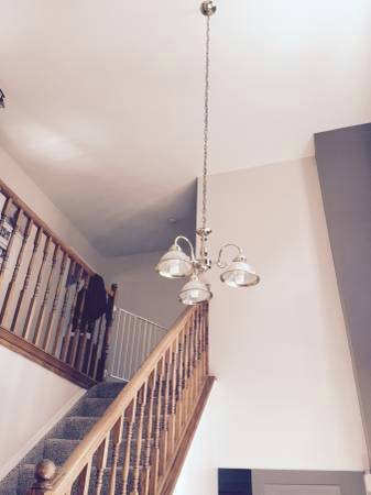 Replacement  For Foyer Chandelier Cover Photo