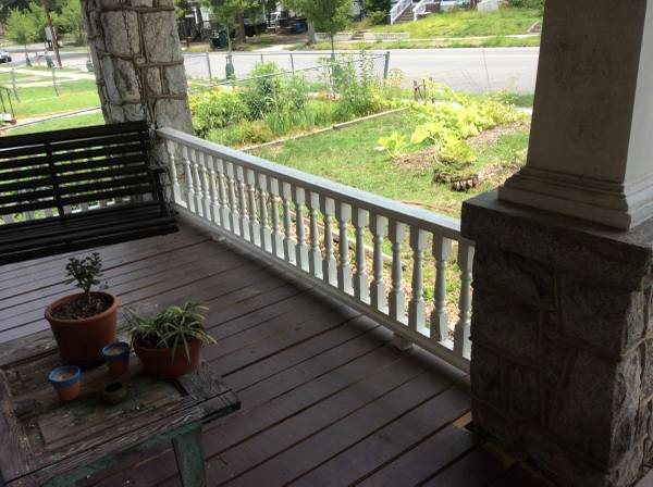 Porch Railings  Cover Photo