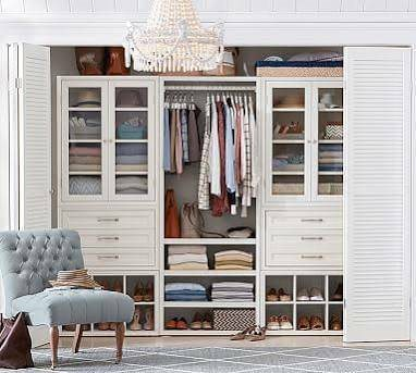 Closet Shelving And Drawers Cover Photo