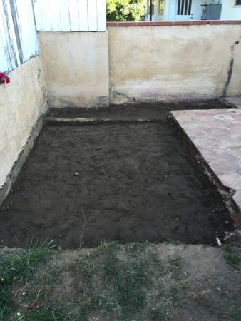 Cement Patio Project Cover Photo