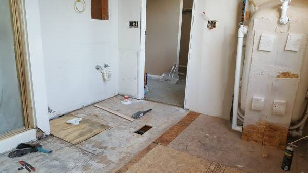 Laying Tile In Bathroom Cover Photo