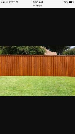 Fence Post Repair