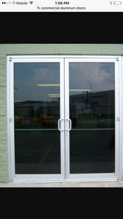 Commercial Aluminum Doors Installation Cover Photo