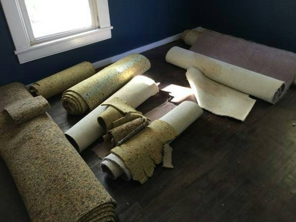 Carpet to Dump Cover Photo