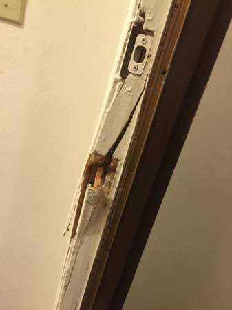 Broken Door And Frame Needs To Be Fixed  Cover Photo