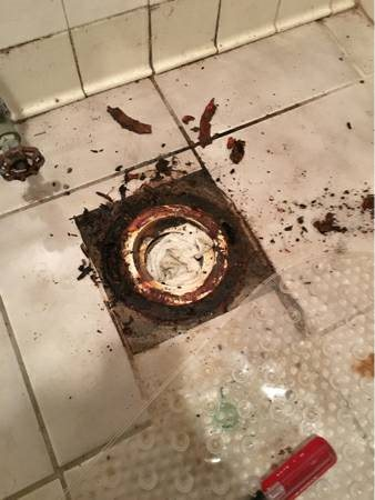 Plumber - Replace Toilet Flange Cover Photo