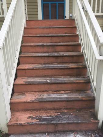 Repaint our Front Stairs Cover Photo