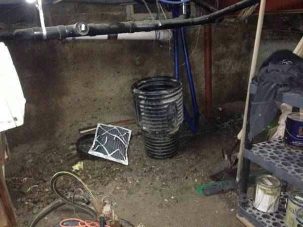 Sump Pump Cover Photo