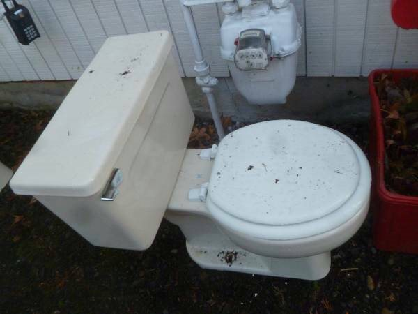 Hauling And Disposal Of 2 Toilet Bowls Cover Photo