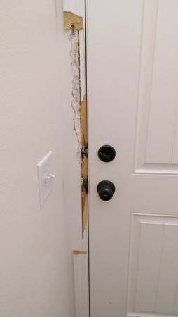 Finish Carpenter Needed for Door Jamb Repair Cover Photo