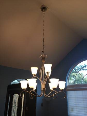 Need Electrician To Re Hang Chandelier Cover Photo