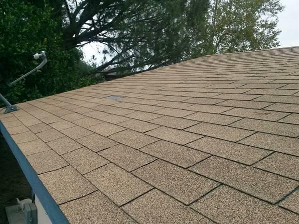 Roof fix