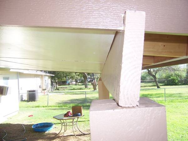 Roof Beam header Needs Replacement or fix Cover Photo