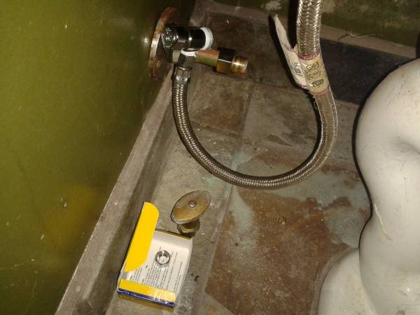 Toilet Valve Replace Cover Photo