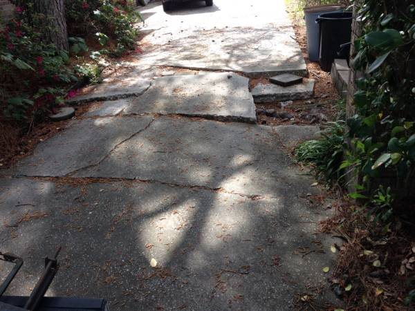 10x14 Concrete Driveway Repaired Cover Photo