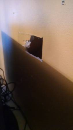 Small Mudding wall Hole Repair job Cover Photo