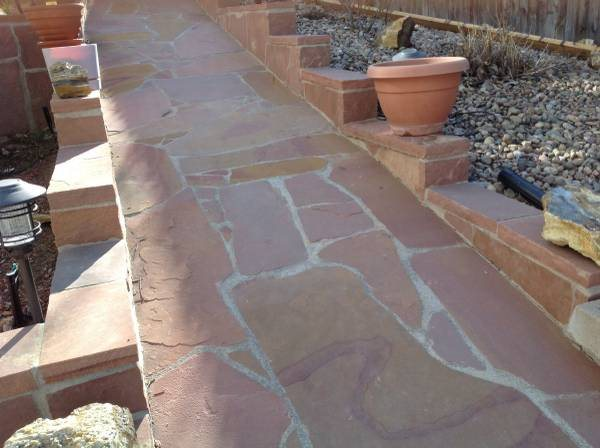 Installing Flagstone Cover Photo