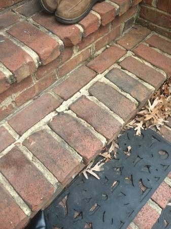 Needed - Someone to fix Loose Bricks on Steps Cover Photo