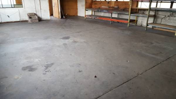 Cement Floor Refinish/Polish Cover Photo