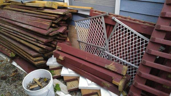 Need Some Old Deck Wood Hauled Away Cover Photo