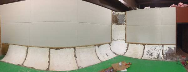 Need Drywall Floated on cyc Wall Cover Photo