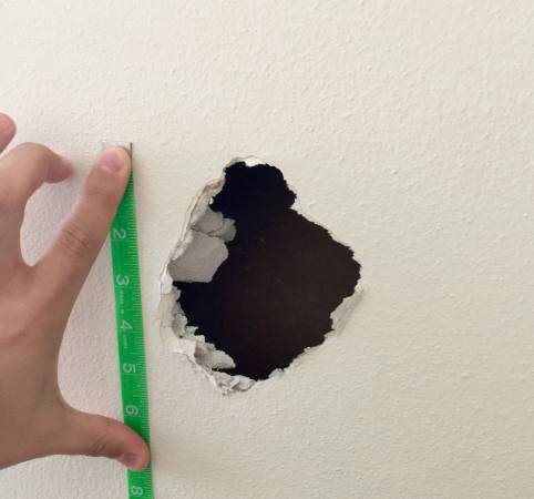 Spackle Drywall