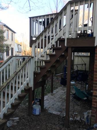 Deck Stairs- Rebuild Cover Photo