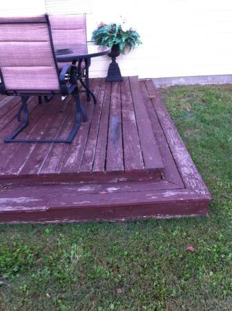 Power Wash And Seal my Deck Cover Photo