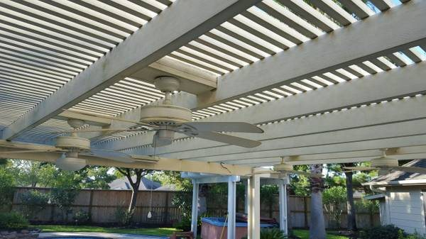 Aluminum Pergolas Cleaning Cover Photo
