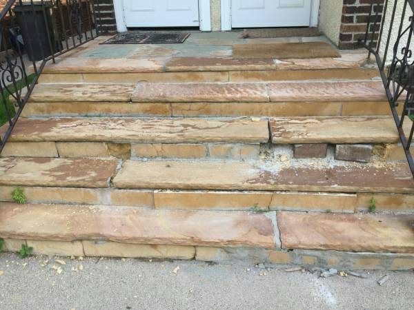 Stone Steps Repair  Cover Photo