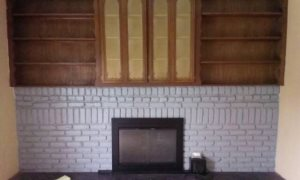 Refacing Fireplace. Cover Photo