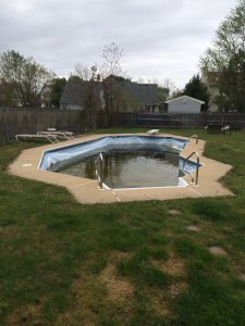 Pool Liner Cover Photo