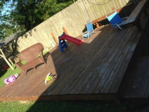 Deck Stain Cover Photo