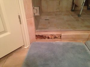 Inexpensive Bathroom Remodel Before Photo