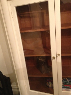 Cabinet Glass Replacement Cover Photo