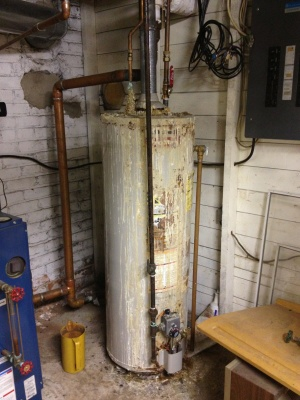 Hot Water Heater Install Cover Photo
