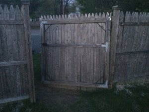 Fence Door Cover Photo