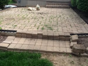 Patio Brick Pavers