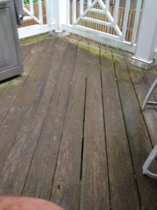 Outdoor Deck Staining Cover Photo