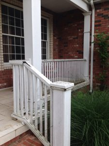 New Railing And Posts Cover Photo