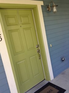 Door And Trim Painted Cover Photo