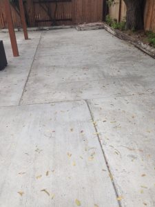 Removing Concrete Slab Cover Photo
