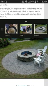 Exterior Fire Pit Cover Photo