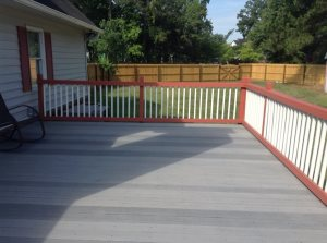 Deck Railing Cover Photo