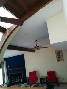 Ceiling Popcorn Removal & Repainting Cover Photo