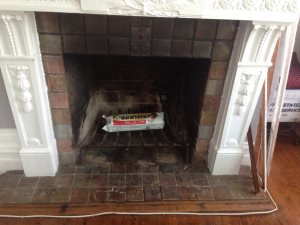 Fireplace Tile Job Cover Photo